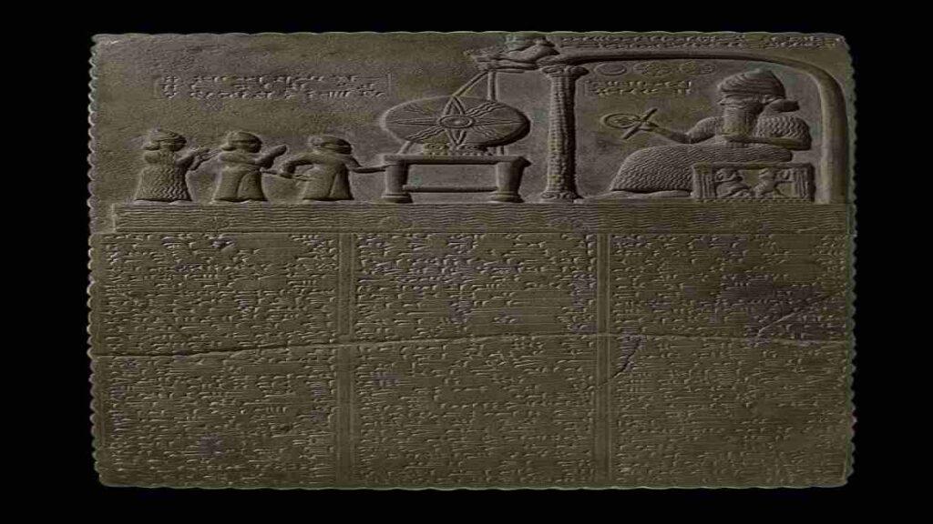 Tableta babiloniana Shamash