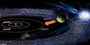 un corp ceresc a intrat in sistemul nostru solar