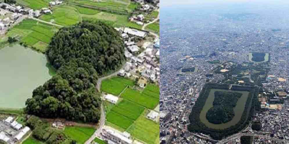 kofun, mormintele uriase din Japonia