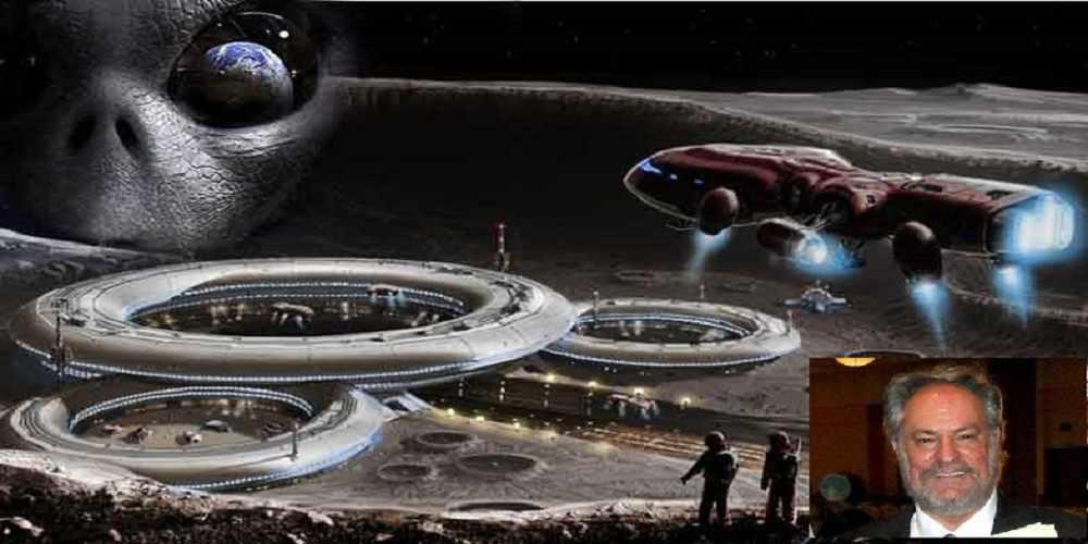 in contact cu extraterestrii declara ca Luna este artificiala