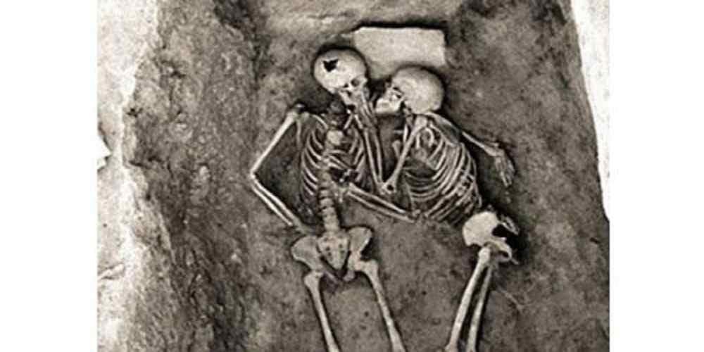 amantii cel mai vechi sarut din istorie