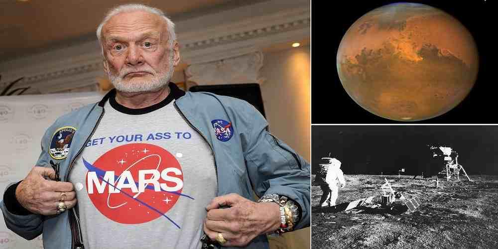 astronautul buzz aldrin spune ca trebuie sa mergem pe marte pentru a ne salva