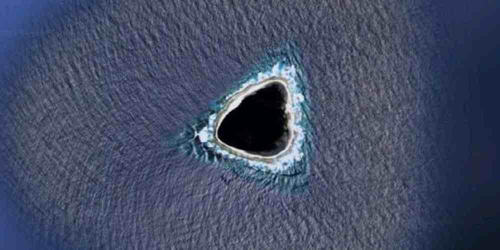 descoperita o gaura neagra in ocean