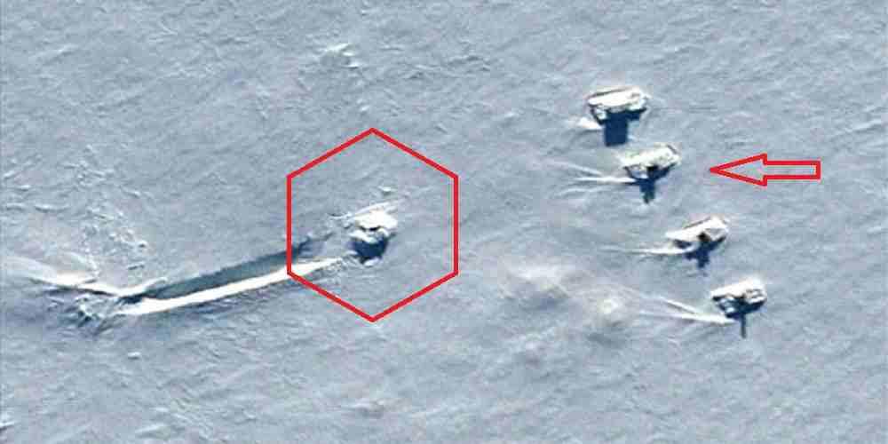 ozn prabusit in antarctica pazit de tancuri