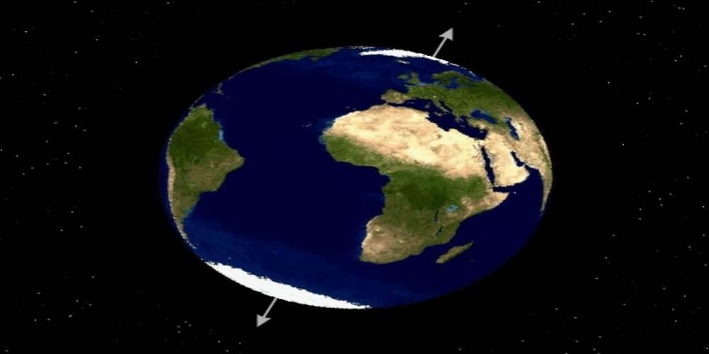 pamantul s-a rasturnat cu milioane de ani in urma