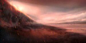 planeta unde ploua cu fier topit