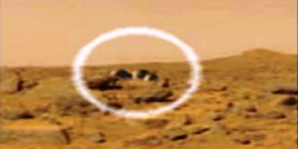 descoperite structuri extraterestre pe Marte