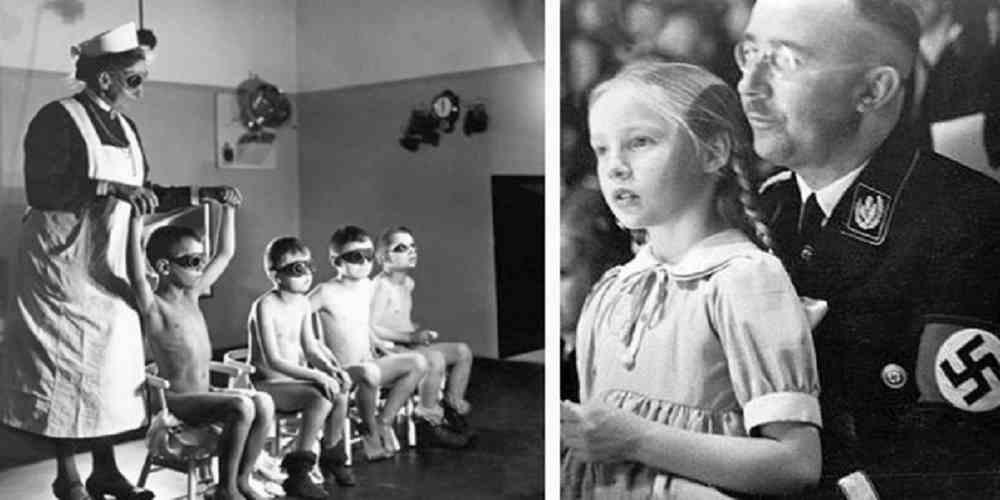 proiectul nazist pentru cresterea super copiilor