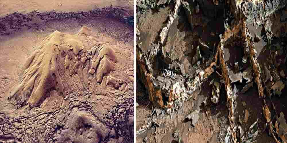 descoperit un vechi oras pe Marte